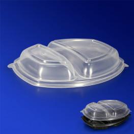 Крышка прозрачная РР к контейнеру ланч-бокс PG257-2D 25,7х20,2х3,7см