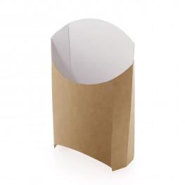 Пакет для картофеля фри крафт/ламинир 12х10х5см на 110-170гр ECO FRY