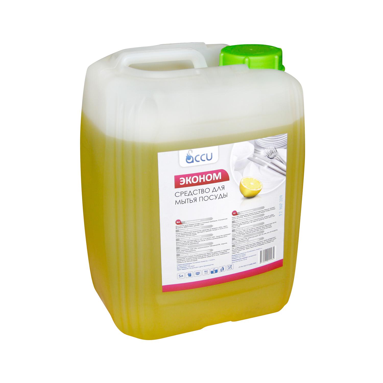 Жидкость для мытья посуды Econom ПЭТ 5L Лимон