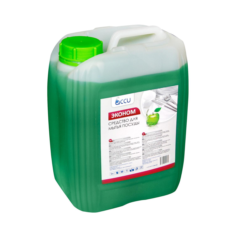 Жидкость для мытья посуды Econom ПЭТ 5L Яблоко