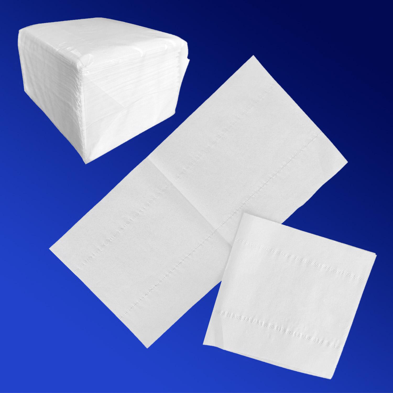Салфетки  белые для настольного диспенсера 200шт/уп