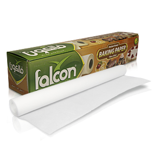 Бумага для выпечки пергамент 45см х   75м 1рл/уп box с ножом  белая