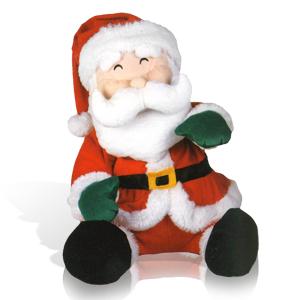 Декорация Дед Мороз 41х33см музыкальная