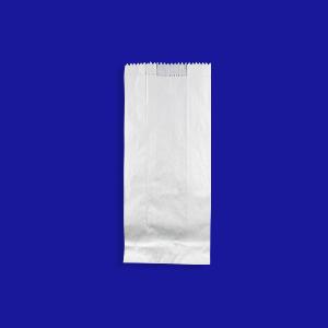 Пакет бумажный  24х11х6см белый для выпечки 1кг  1000шт/уп