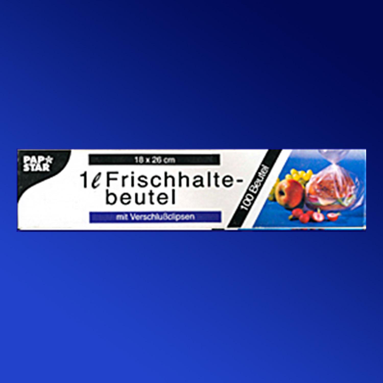 Пакет для свежих продуктов  1л 18х26см 100шт/у