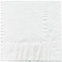 Салфетки  белые 33х33см 1сл  100шт/уп