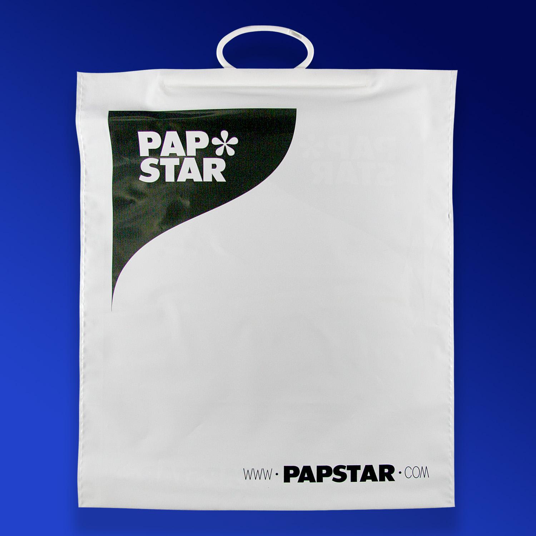 Пакет PE с логотипом PAP STAR
