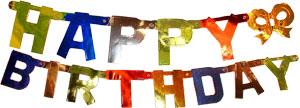 Гирлянда-буквы Happy Birthday 1,7м Ps