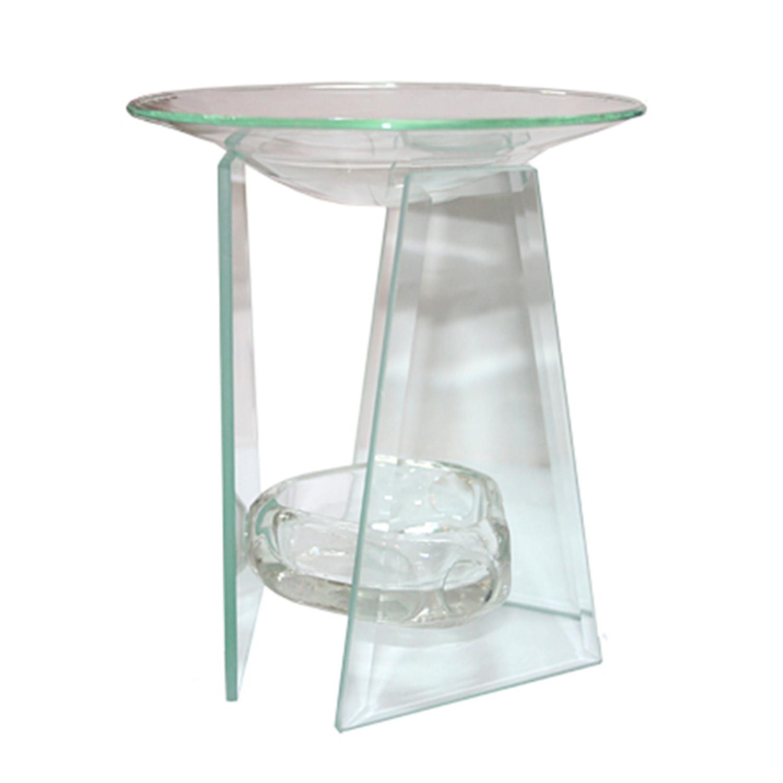 Лампа для ароматических масел d12х13,5см стеклянная прозрачная