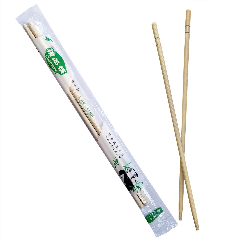 Палочки бамбуковые 23см 100 пар/уп полиэт  упаковка