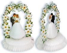 Декорация настольная  Жених и Невеста  фигура  30см