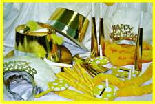 Наряд Комплект Happy New Year (шляпы золот /тиары/ак