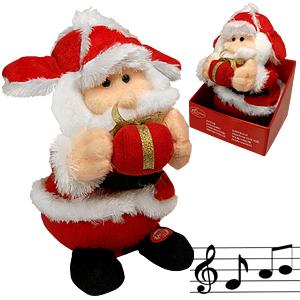 Декорация Дед Мороз 22х15см муз