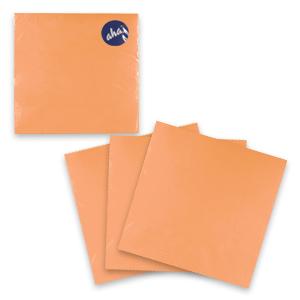 Салфетки  персиковые   33х33см 20шт/уп