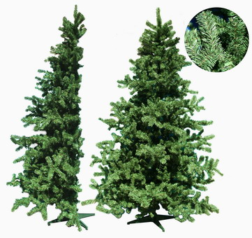 Елка  2,4м половинка зеленая  d1,48м
