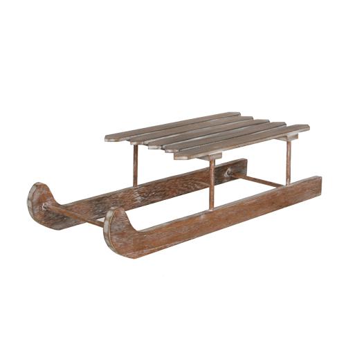 Декор Сани деревянные натуральные 50см