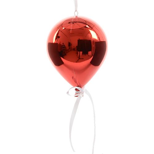 Декор Воздушный шар с лентой d20х25см в ассортименте