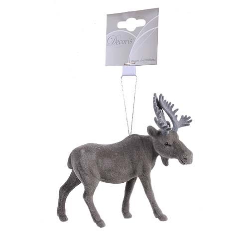 Декор Лось серый 15*13 см