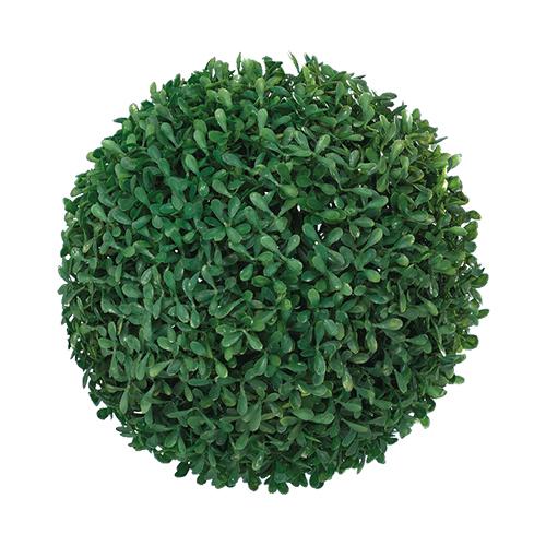 Декор Шар самшитовый зеленый d35см