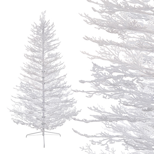 Елка    2,1м белая заснеженная  386веток