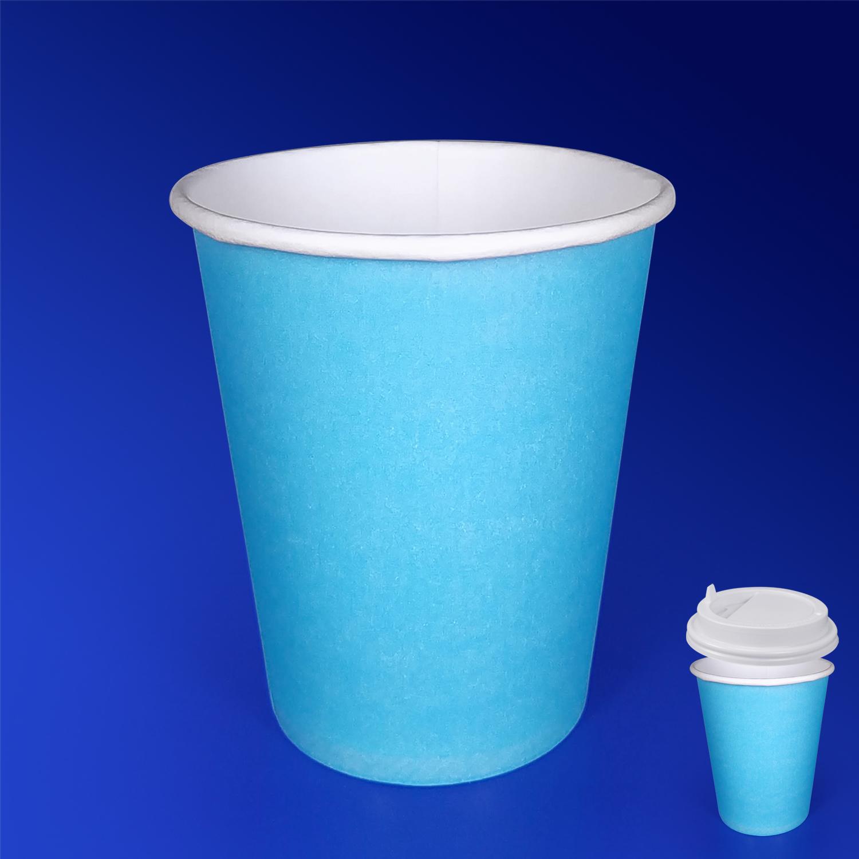 Стакан бумажный 350мл для горячих напитков тиффани  50 шт/уп