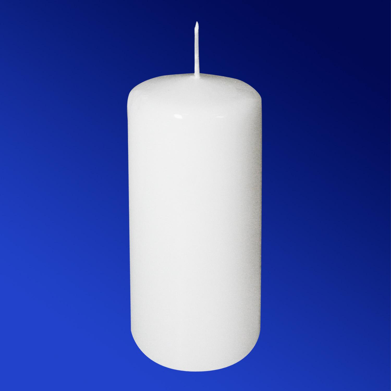 Свечи d 6,0х12,5см  пеньковые белые