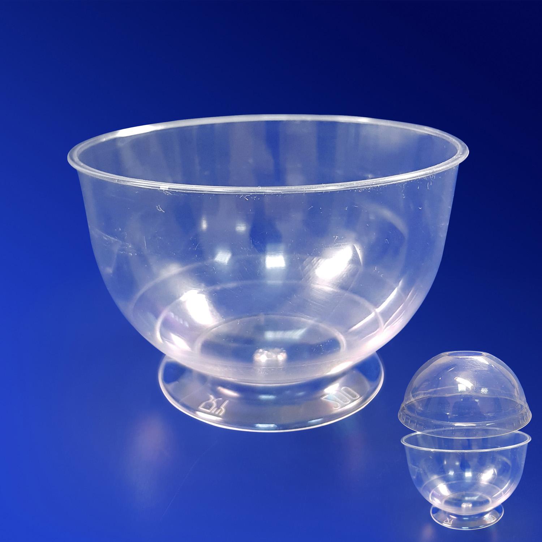 Креманка пластиковая 200мл прозрачная