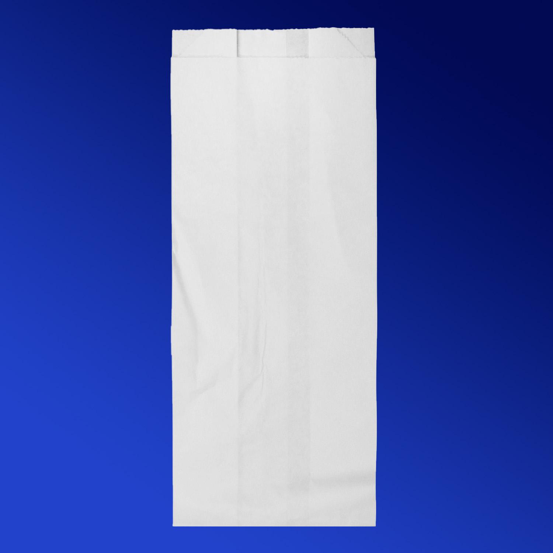 Пакет бумажный  26х10х6,5см белый для выпечки 1,5кг  100шт/уп