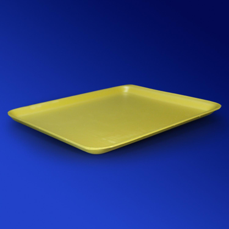 Лоток ВПС 27,5х22,9х1,6см O-12  желтый 150 шт/уп