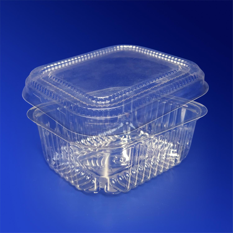 Салатник  130мл 8х6,5см PP прозрачный  100 шт/уп с крышкой