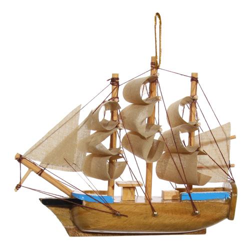 Декор Корабль 11см