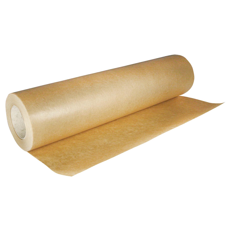 Бумага для выпечки пергамент 38см х 100м коричневая  1рл/уп