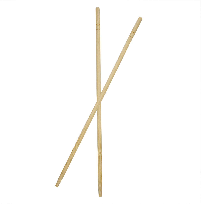 Палочки бамбуковые 20см 100пар/уп  круглые