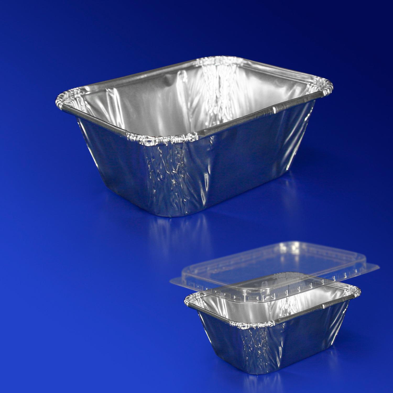 Контейнер из алюм  фольги  251мл  11,4х8,9х4,2см  25 штук в упаковке